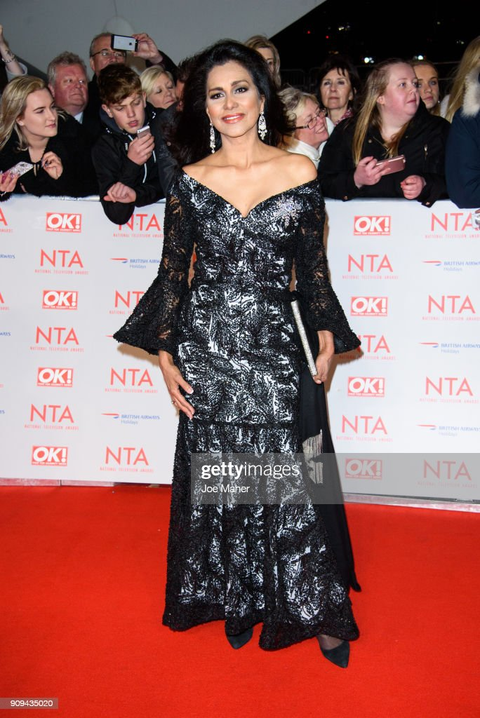 Wilnelia Forsyth attends the National Television Awards 2018 at The O2 Arena on January 23, 2018 in London, England.