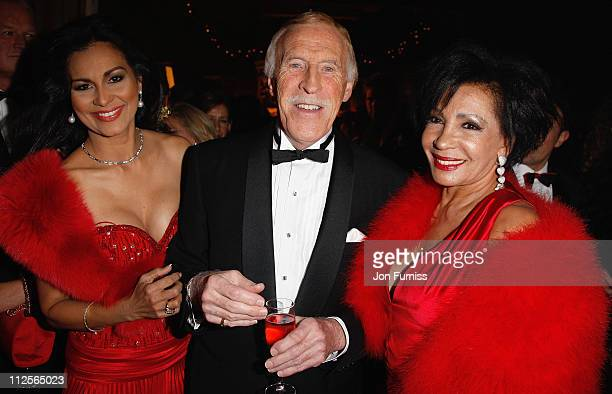 Wilnelia Forsyth Bruce Forsyth and Dame Shirley Bassey attend Christmas party in honour of Dame Shirley Bassey to celebrate her 70th Birthday kindly...