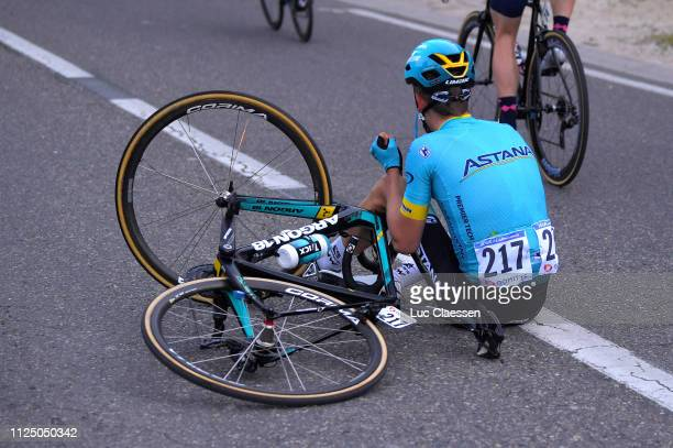 Wilsly Gregaard Jonas of Denmark and Astana Pro Team / Crash / during the 4th Tour de La Provence 2019, Stage 2 a 195,6km race from Istres to La...