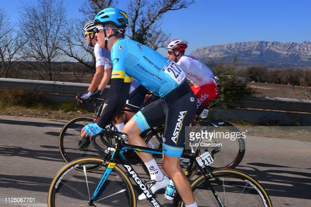 Wilsly Gregaard Jonas of Denmark and Astana Pro Team / during the 4th Tour de La Provence 2019 Stage 2 a 1956km race from Istres to La Ciotat...