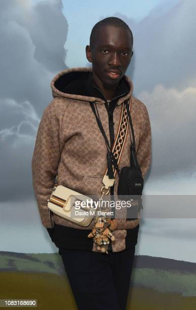 Wilson attends the launch of 'Wiltshire Before Christ' by Aries X Jeremy Deller x David Sims at The Store X 180 The Strand on January 15 2019 in...