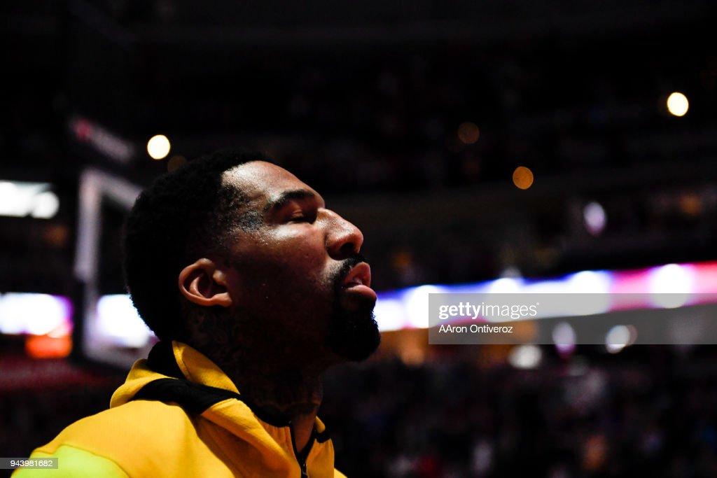 DENVER NUGGETS VS PORTLAND TRAILBLAZERS, NBA : News Photo