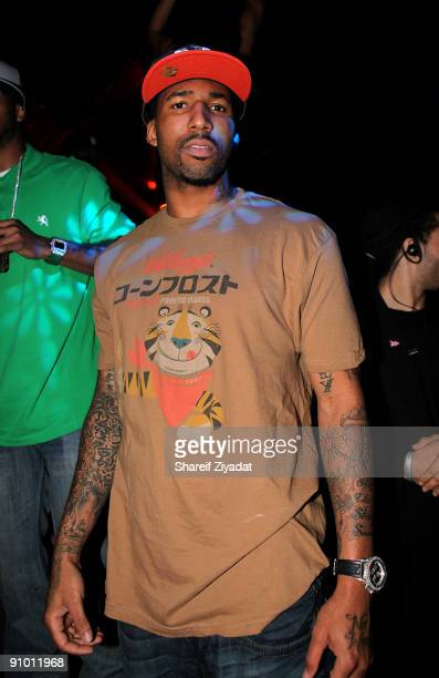 Wilson Chandler visits the Pink Elephant on September 20 2009 in New York City
