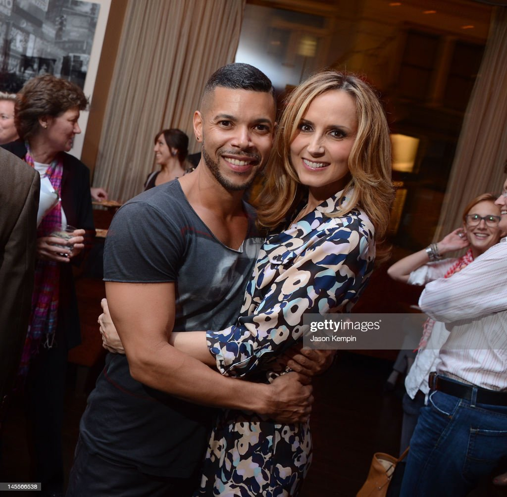 Wilson Cruz and Chely Wright attend the 'Chely Wright: Wish Me Away' New York After Party at Zio Restaurant on June 1, 2012 in New York City.