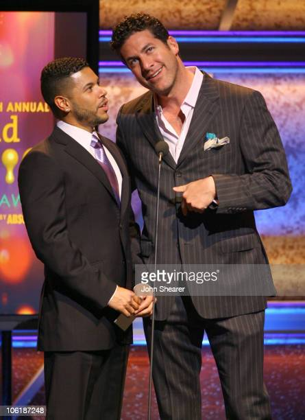 Wilson Cruz and Eduardo Xol during 18th Annual GLAAD Media Awards Los Angeles Show at Kodak Theater in Los Angeles California United States