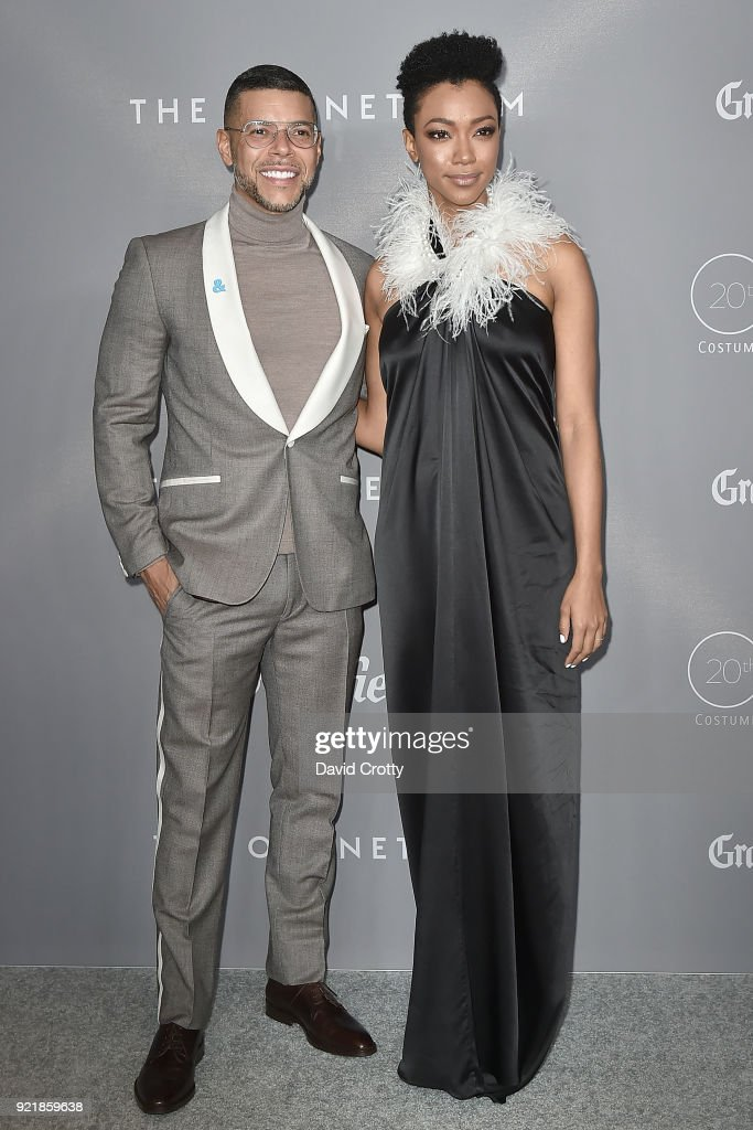 Wilson Cruz and Sonequa Martin-Green attend the 20th CDGA (Costume Designers Guild Awards) - Arrivals on February 20, 2018 in Beverly Hills, California.