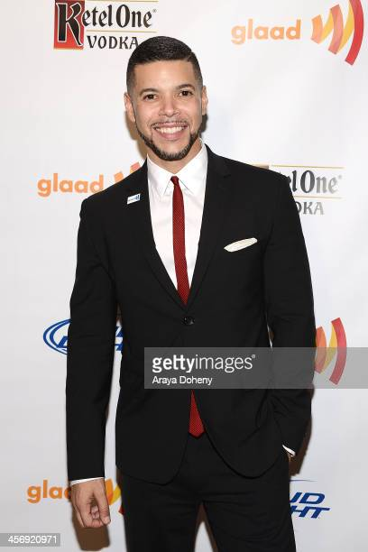Wilson Cruz attends GLAAD Tidings Los Angeles Holiday Benefit at Andaz on December 15 2013 in West Hollywood California
