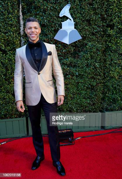 Wilson Cruz attends the 19th annual Latin GRAMMY Awards at MGM Grand Garden Arena on November 15 2018 in Las Vegas Nevada