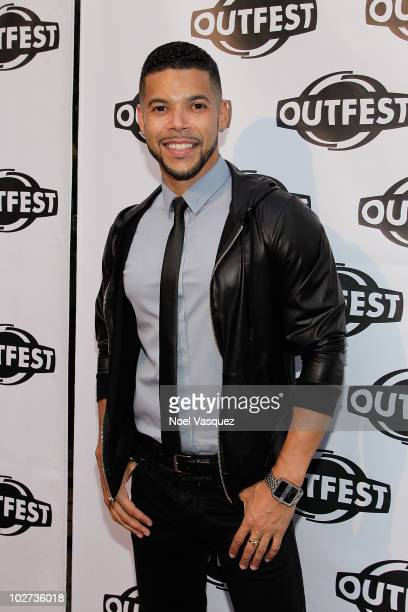 Wilson Cruz attends the 2010 Outfest opening night gala of 'Howl' at the Orpheum Theatre on July 8 2010 in Los Angeles California