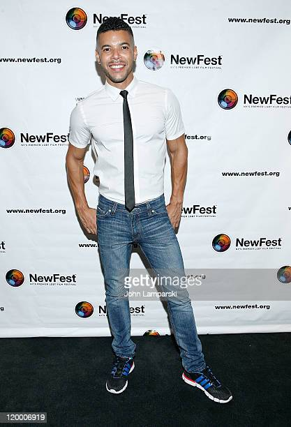 Wilson Cruz attends the 2011 NewFest LGBT Film Festival closing night screening of 'Gun Hill Road'>> at the Walter Reade Theater on July 28 2011 in...