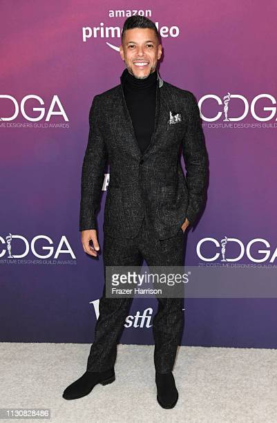 Wilson Cruz attends The 21st CDGA at The Beverly Hilton Hotel on February 19 2019 in Beverly Hills California