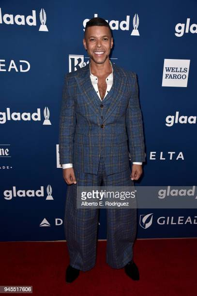 Wilson Cruz attends the 29th Annual GLAAD Media Awards at The Beverly Hilton Hotel on April 12 2018 in Beverly Hills California