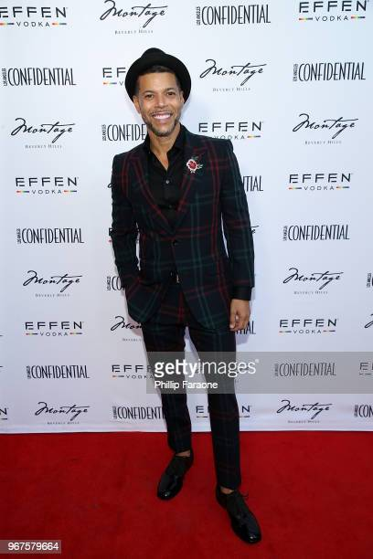 Wilson Cruz attends the Los Angeles Confidential Celebration for Portraits of Pride with GLAAD and Laverne Cox on June 4 2018 in Beverly Hills...