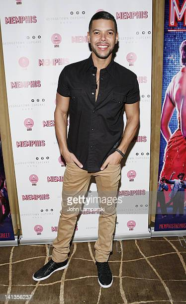 Wilson Cruz attends the Memphis celebration of 1000 Broadway performances at 48 Lounge on March 14 2012 in New York City