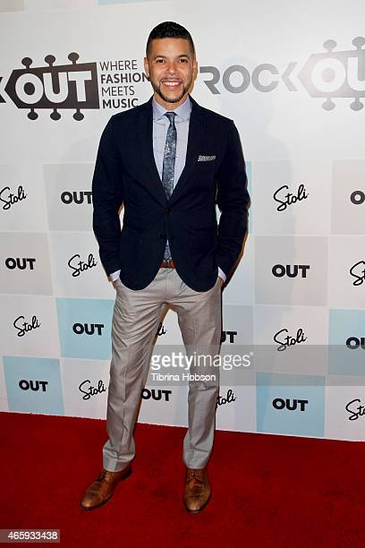 Wilson Cruz attends the Out Magazine's 'Rock Out' party at Lure Nightclub Hollywood on March 11 2015 in Los Angeles California
