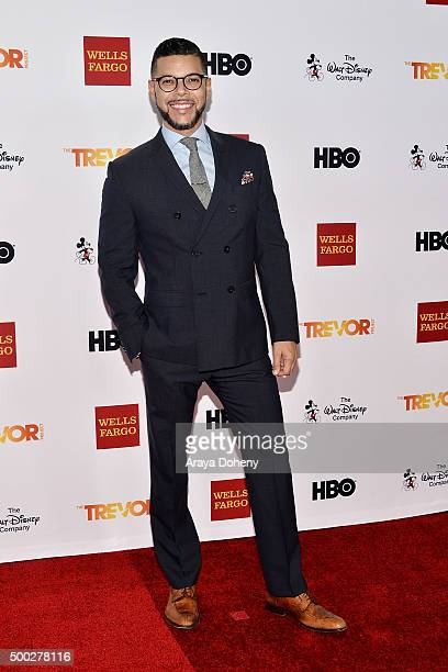 Wilson Cruz attends the TrevorLIVE LA 2015 event at Hollywood Palladium on December 6 2015 in Los Angeles California