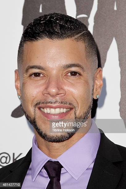 Wilson Cruz attends the wedding Ccelebration of Paul Katami and Jeff Zarrillo at The Beverly Hilton Hotel on June 28 2014 in Beverly Hills California