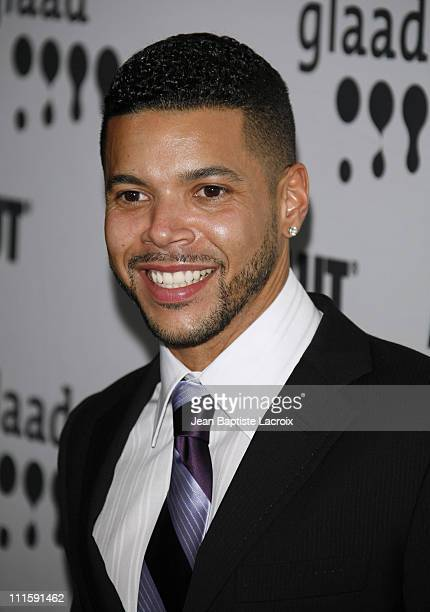 Wilson Cruz during 18th Annual GLAAD Media Awards Los Angeles Arrivals at Kodak Theatre in Hollywood California United States