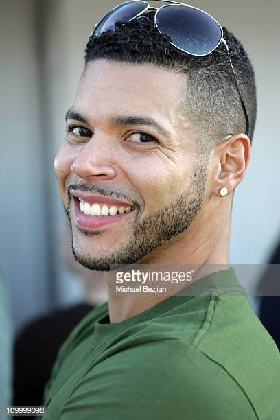 Wilson Cruz during DKNY Men's Underwear Celebrity Field Day at Skysport Spa in Beverly Hills California United States