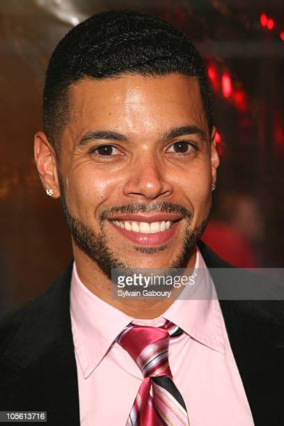 Wilson Cruz during 'Rent' 10th Anniversary celebration Theater Arrivals at Nederlander Theater in New York NY United States