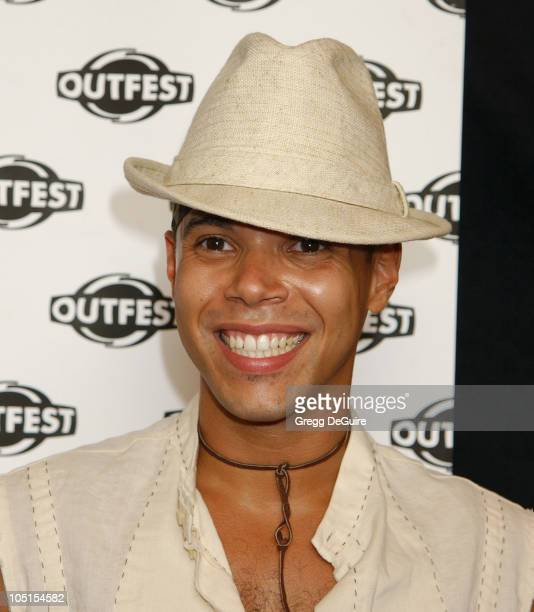 Wilson Cruz during The Opening Night Gala of OUTFEST featuring 'Party Monster' in Los Angeles California United States