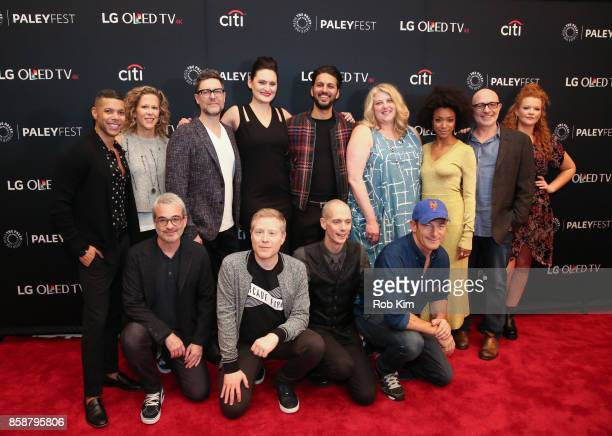 Wilson Cruz Heather Kadin Alex Kurtzman Aaron Harberts Anthony Rapp Mary Chieffo Doug Jones Shazad Latif Gretchen J Berg Jason Isaacs Sonequa...