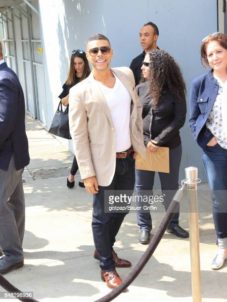 Wilson Cruz is seen on September 16 2017 in Los Angeles California