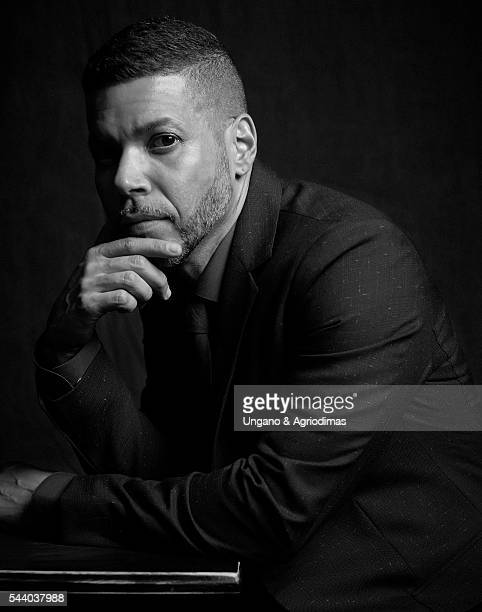 Wilson Cruz poses for a portrait at Logo's 'Trailblazer Honors' on June 23 in the Cathedral of St John the Divine in New York City