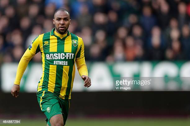 Wilson Eduardo of ADO Den Haag during the Dutch Eredivisie match between FC Groningen and ADO Den Haag at Euroborg on March 01 2015 in Groningen The...