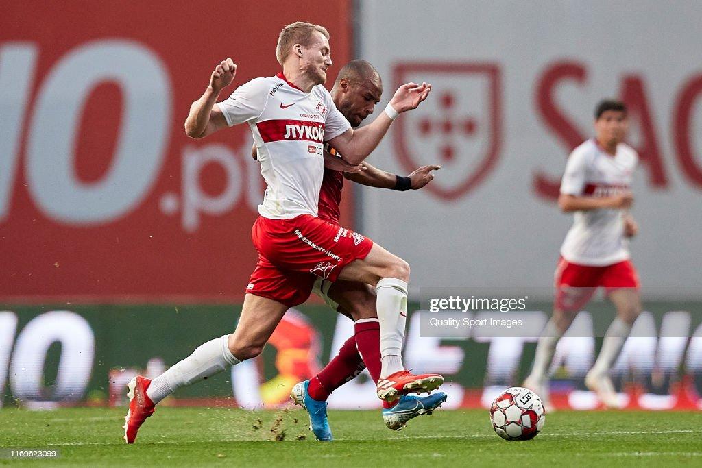 SC Braga v Spartak Moscow - UEFA Europa League Play Off : News Photo