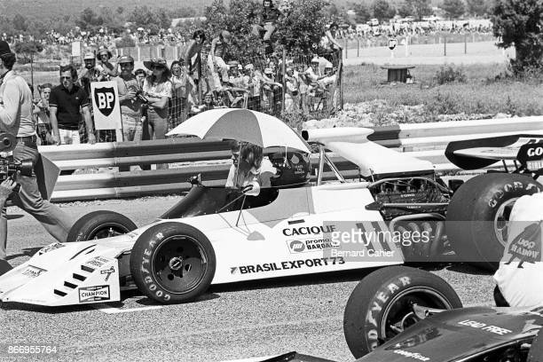 Wilson Fittipaldi BrabhamFord BT42 Grand Prix of France Circuit Paul Ricard 01 July 1973