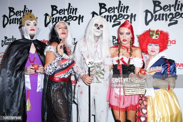 Wilson Gonzales Ochsenknecht Natascha Ochsenknecht Cheyenne Savannah Ochsenknecht and Baerbel Wierichs attend the Halloween party by Natascha...