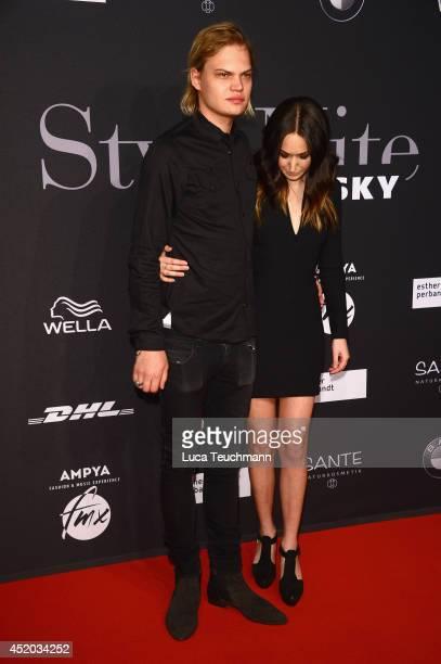 Wilson Gonzalez Ochsenknecht and girlfriend Lorraine attend the Michalsky Style Night at Tempodrom on July 11 2014 in Berlin Germany