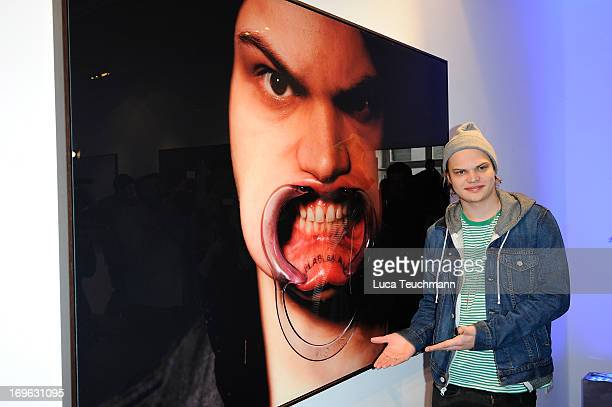 Wilson Gonzalez Ochsenknecht attends the Niels Ruf Art Exhibition at Camera Works on May 29, 2013 in Berlin, Germany.