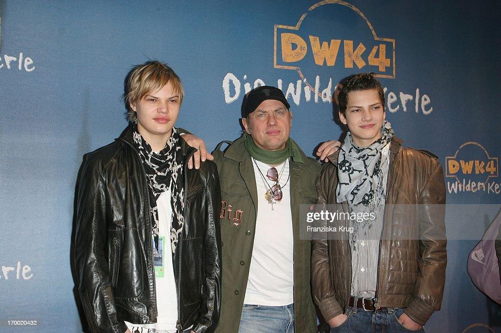 Die Wilden Kerle 4 - Germany Premiere : News Photo