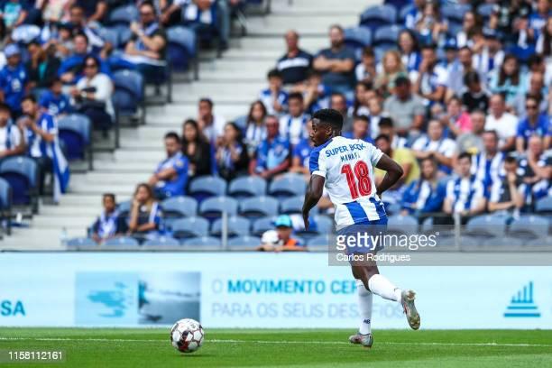 Wilson Manafa of FC Porto during the match FC Porto v AS Monaco PreSeason Friendly at Estadio do Dragao on July 27 2019 in Porto Portugal