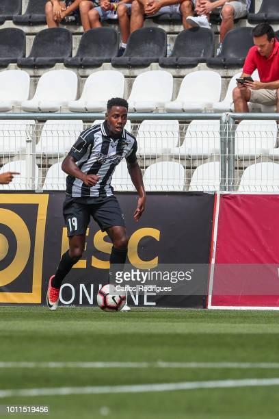 Wilson Manafa of Portimonense SC during the match between Portimonense and Rio Ave for Portuguese League Cup qualification round at Estadio Municipal...