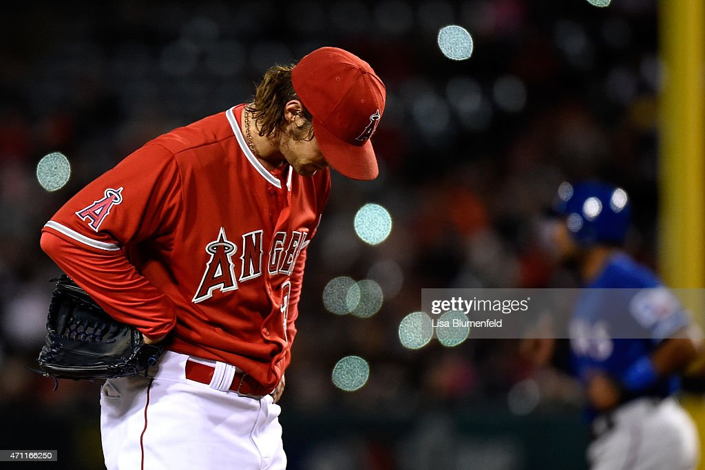 Texas Rangers v Los Angeles Angels of Anaheim