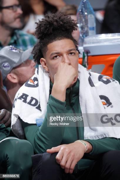 J Wilson of the Milwaukee Bucks looks on during the game against the Sacramento Kings on November 28 2017 at Golden 1 Center in Sacramento California...