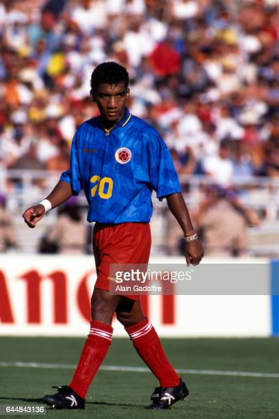 Wilson Perez Roumanie / Colombie Coupe du Monde 1994 Photo Alain Gadoffre / Icon Sport