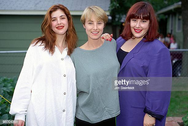 Wilson Phillips Wendy Wilson Chynna Phillips and Carnie Wilson pose for a portrait in Minneapolis Minnesota on August 24 1990