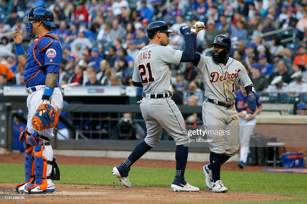 NY: Detroit Tigers v New York Mets