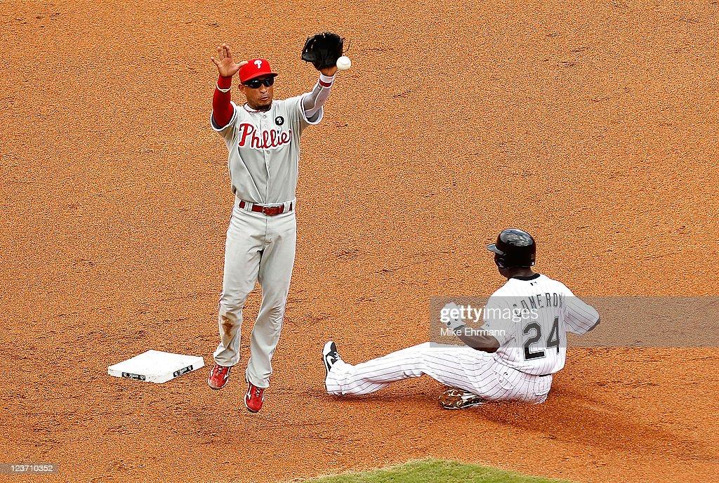 Philadelphia Phillies v Florida Marlins