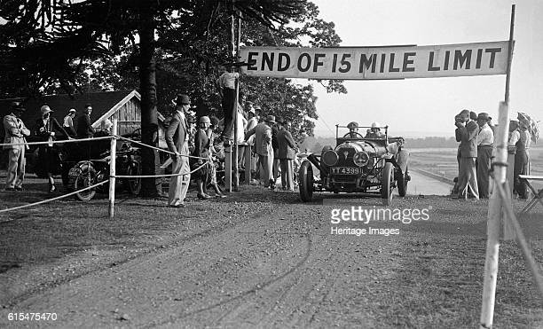 Wilson's Austro-Daimler at the JCC Members Day, Brooklands, 5 July 1930. Austro-Daimler Vehicle Reg. No. YT4399. Event Entry No: 29 Driver: Wilson,...