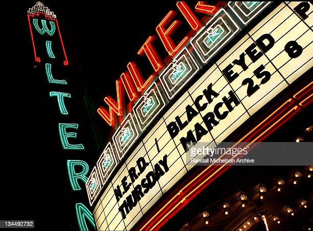 Wiltern Theatre during Justin Timberlake Performing Live with NERD at the Wiltern Theatre March 25 2004 in Los Angeles California United States