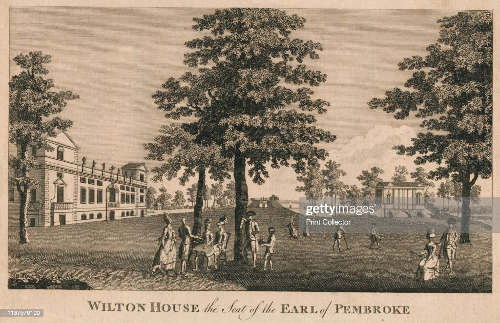 Wilton House the Seat of the Earl of Pembroke', 1779  Ladies