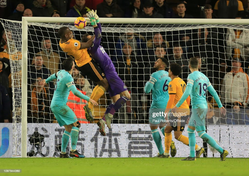 Wolverhampton Wanderers v Newcastle United - Premier League : News Photo