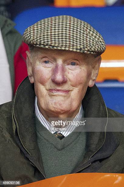 Wim Ras grandpa of Robin van Persie during the match between Netherlands and Latvia on November 16 2014 at the Amsterdam Arena in Amsterdam The...