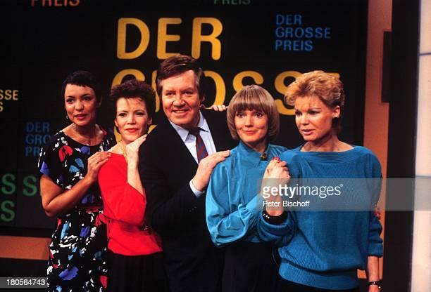 Wim Thoelke Assistentinnen Beate Hopf ZDFSpielShow Der große Preis