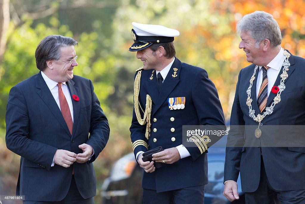 Governor General David Johnston Visits Bergen op Zoom In The Netherlands